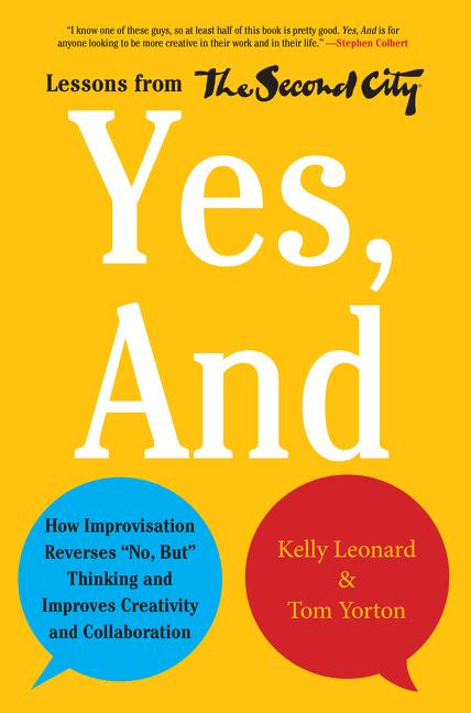 Cover art for Yes, and
