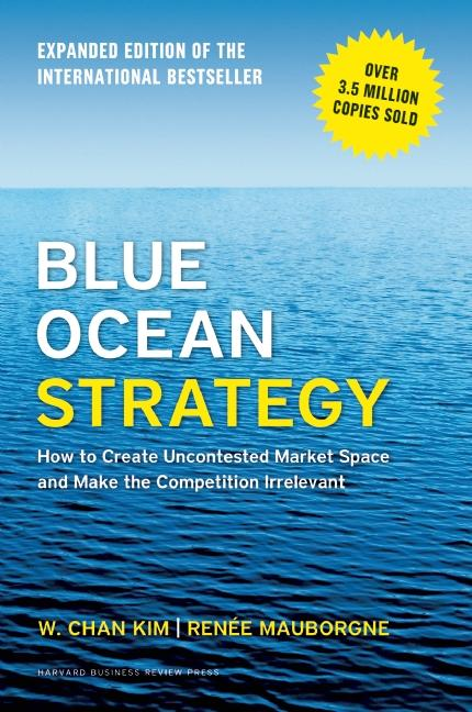Cover art for Blue Ocean Strategy, Expanded Edition
