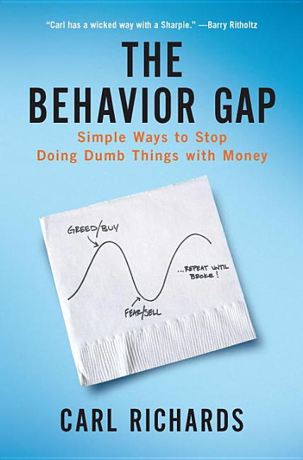 Cover art for The Behavior Gap