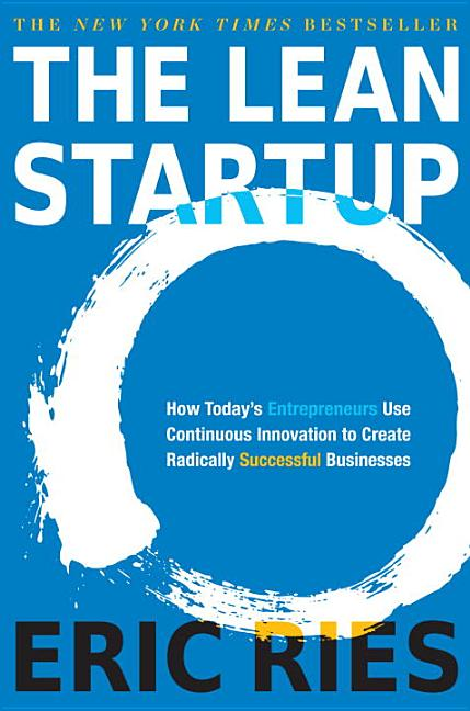 Cover art for The Lean Startup