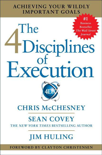 Cover art for The 4 Disciplines of Execution
