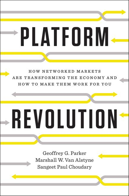 Cover art for Platform Revolution