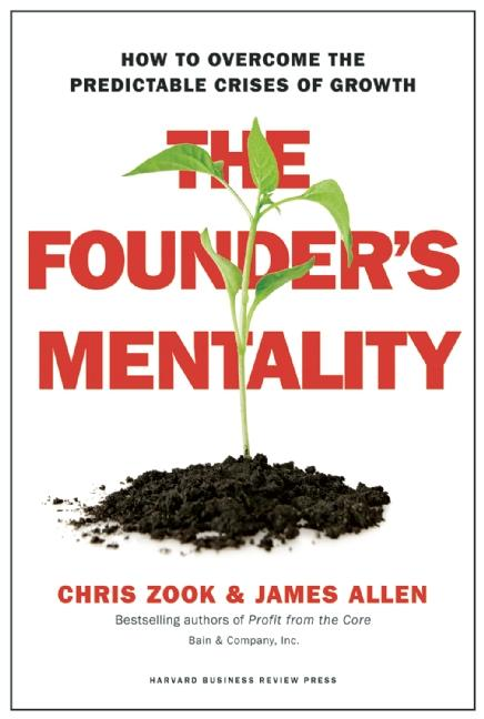 Cover art for The Founder's Mentality