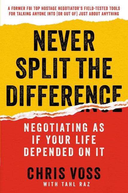 Cover art for Never Split the Difference