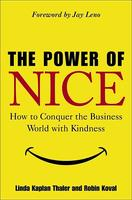 Cover art for The Power of Nice