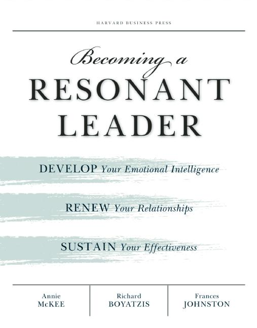 Cover art for Becoming a Resonant Leader