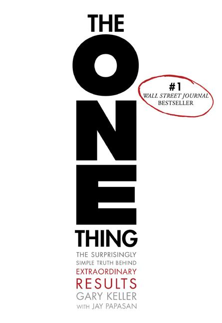 Cover art for The One Thing