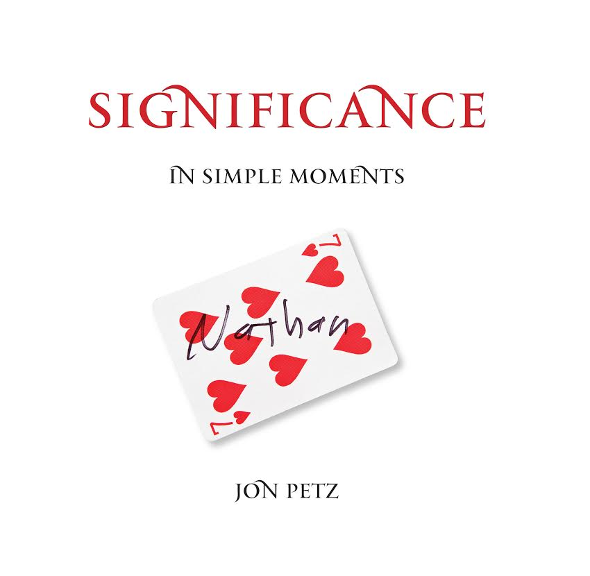 Cover art for Significance . . . In Simple Moments