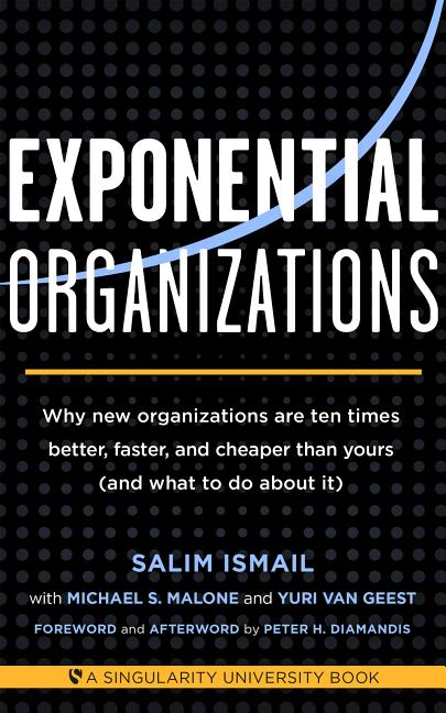 Cover art for Exponential Organizations