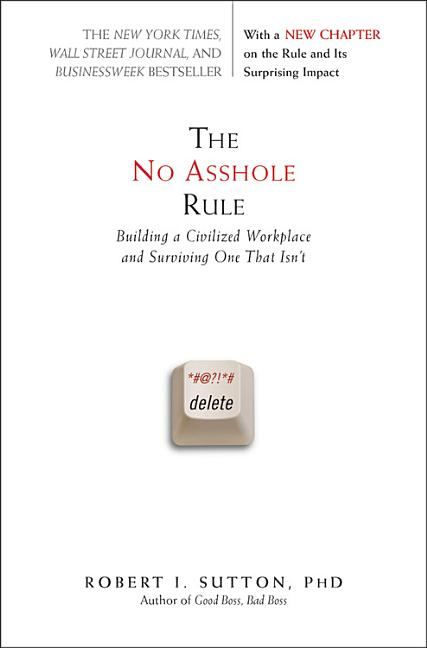 Cover art for The No Asshole Rule