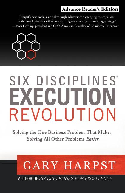 Cover art for Six Disciplines Execution Revolution