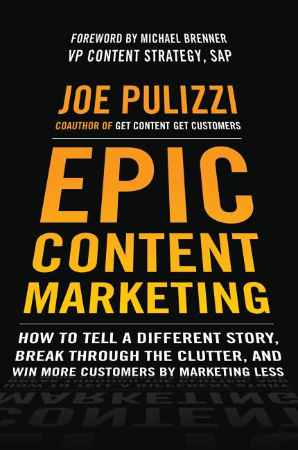 Cover art for Epic Content Marketing