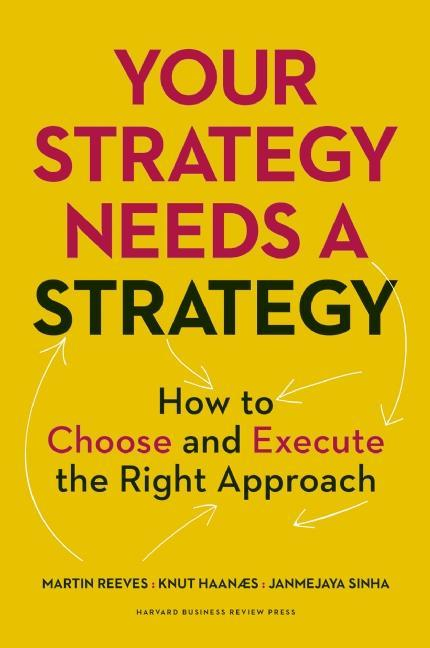 Cover art for Your Strategy Needs a Strategy