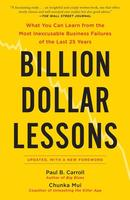 Cover art for Billion Dollar Lessons