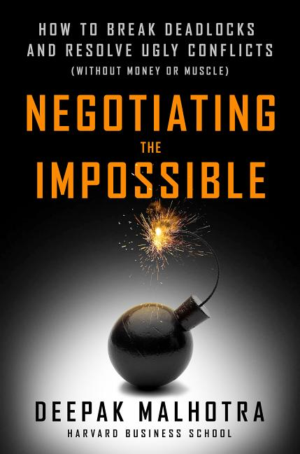Cover art for Negotiating the Impossible