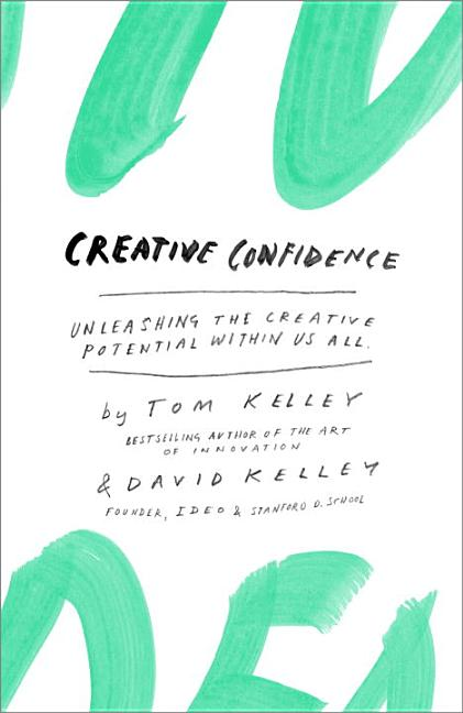 Cover art for Creative Confidence
