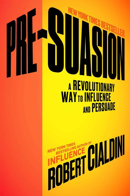 Cover art for Pre-Suasion