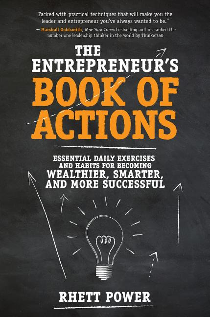 Cover art for The Entrepreneurs Book of Actions