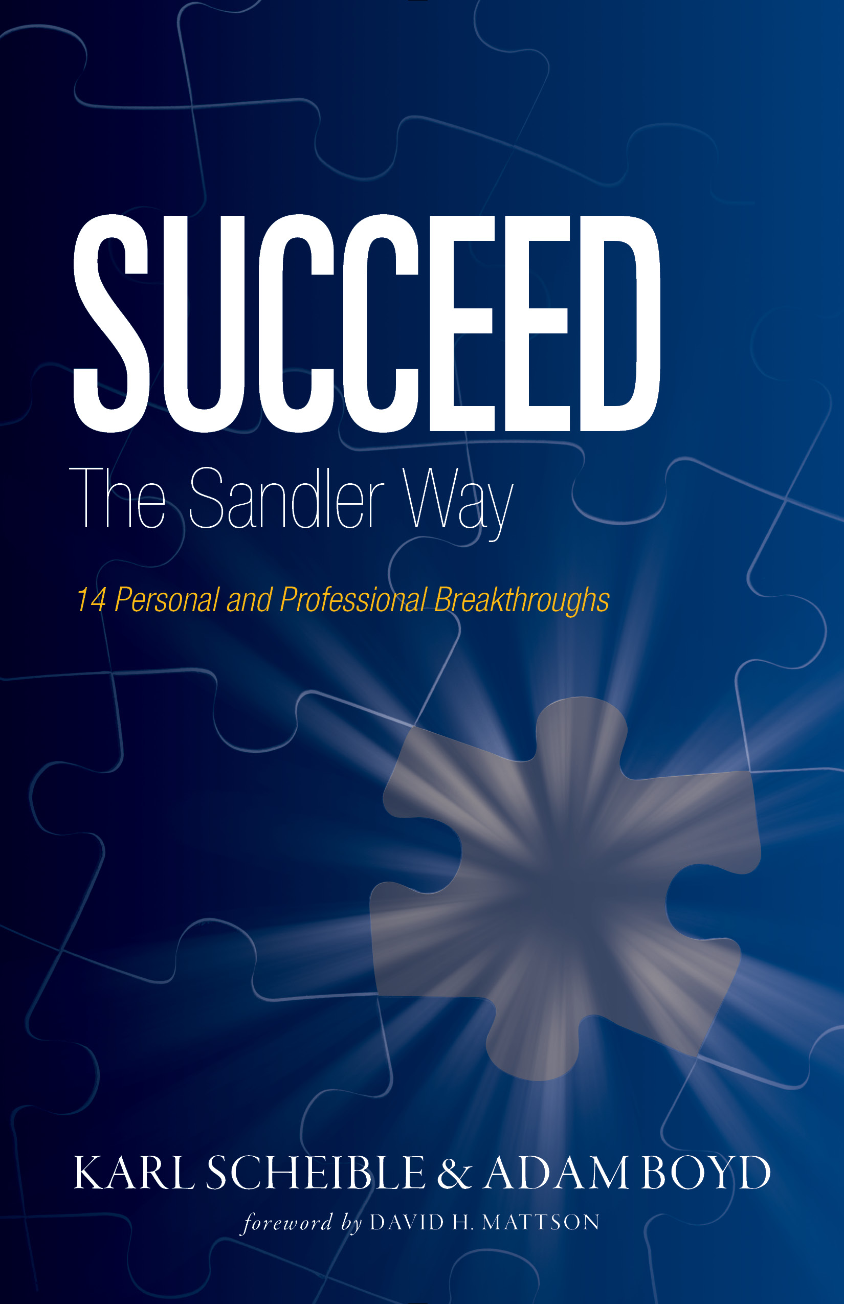 Cover art for Succeed the Sandler Way