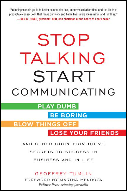 Cover art for Stop Talking, Start Communicating