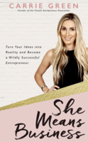 Cover art for She Means Business