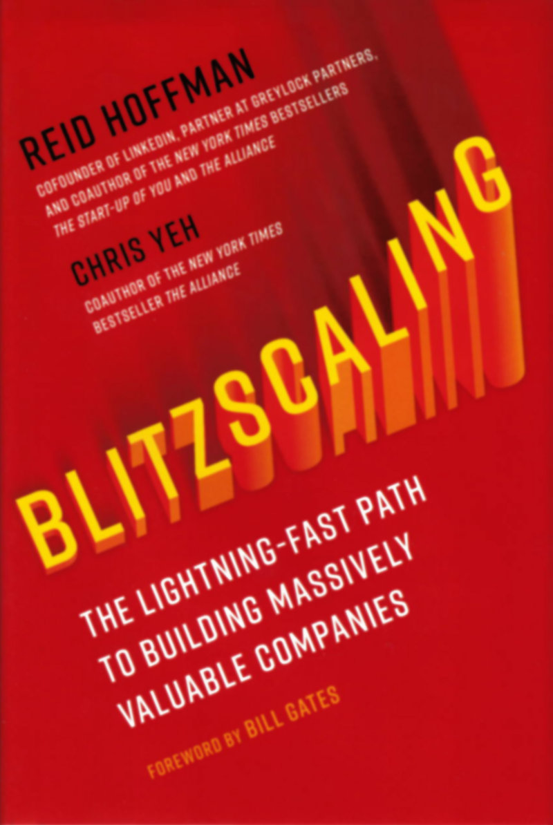 Cover art for Blitzscaling