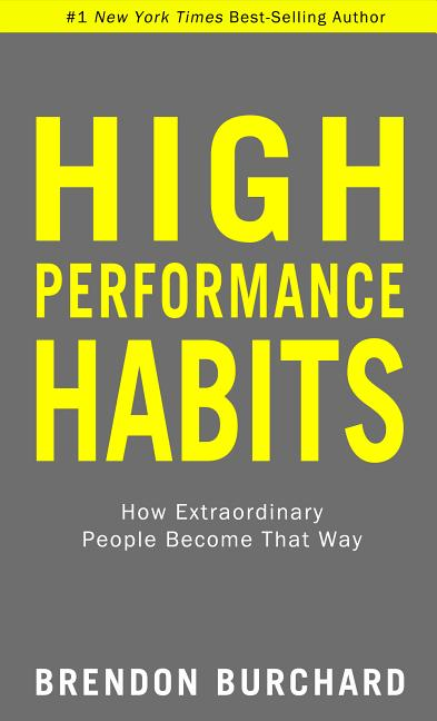 Cover art for High Performance Habits