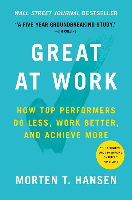 Cover art for Great at Work