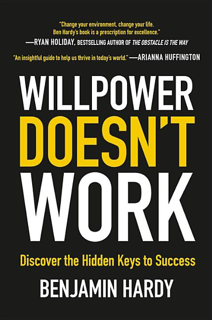 Cover art for Willpower Doesn't Work
