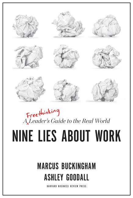 Cover art for Nine Lies about Work