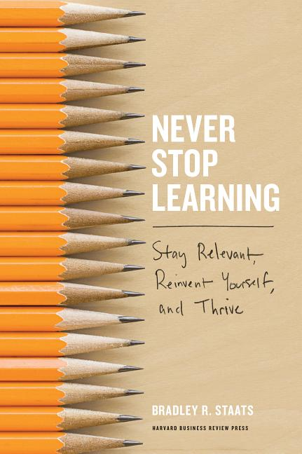 Cover art for Never Stop Learning