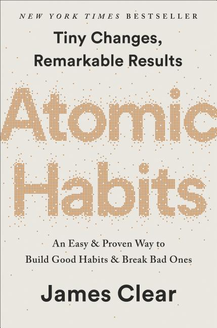 Cover art for Atomic Habits