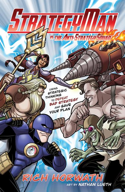 Cover art for Strategyman vs. the Anti-Strategy Squad