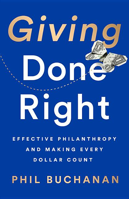 Cover art for Giving Done Right