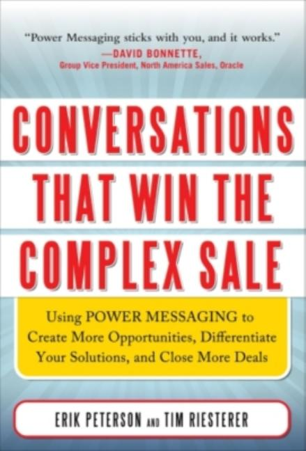 Cover art for Conversations That Win the Complex Sale