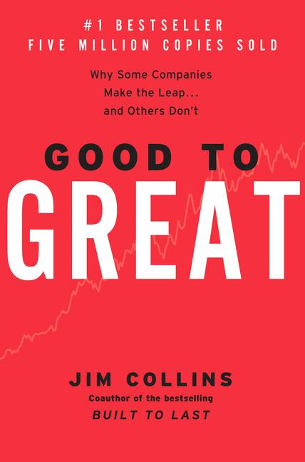 Cover art for Good to Great