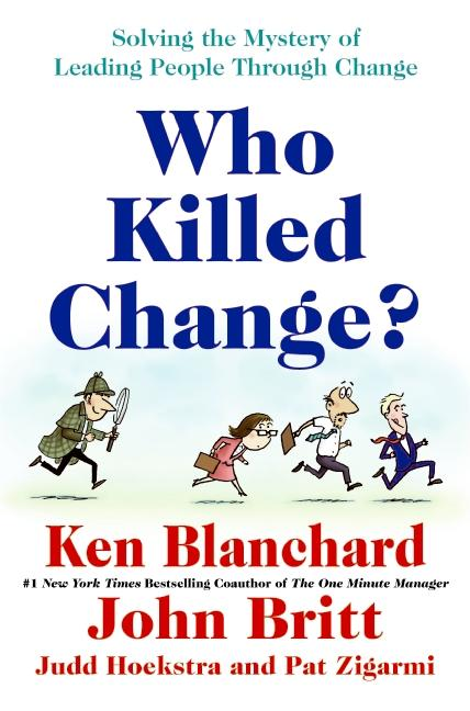 Cover art for Who Killed Change?