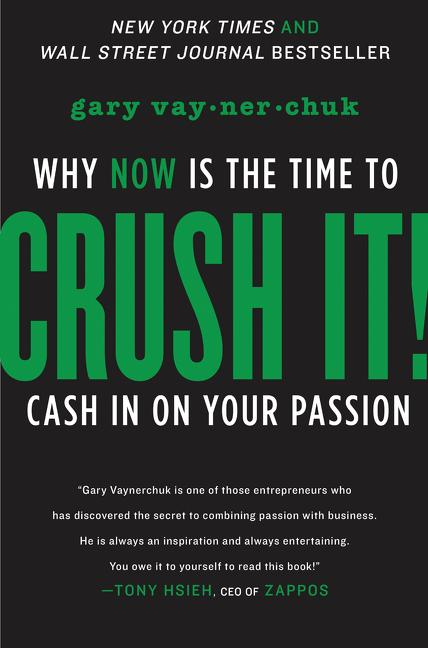Cover art for Crush It!