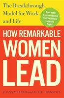 Cover art for How Remarkable Women Lead