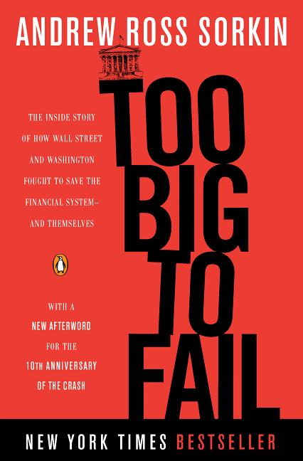Cover art for Too Big to Fail