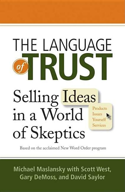 Cover art for The Language of Trust