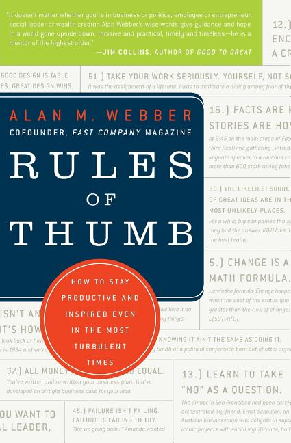 Cover art for Rules of Thumb