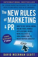 Cover art for The New Rules of Marketing and PR