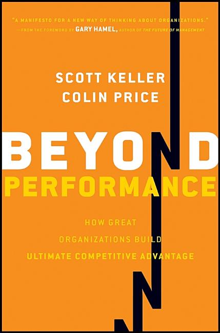 Cover art for Beyond Performance