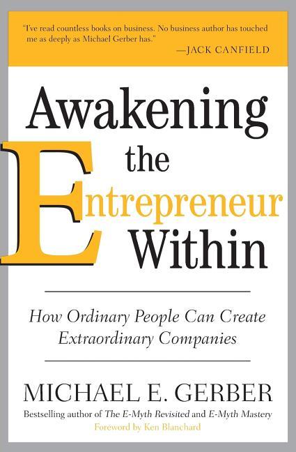 Cover art for Awakening the Entrepreneur Within