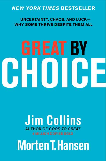 Cover art for Great by Choice
