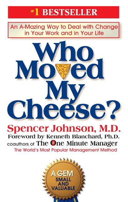 Cover art for Who Moved My Cheese?