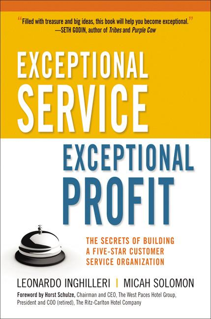 Cover art for Exceptional Service, Exceptional Profit