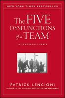 Cover art for The Five Dysfunctions of a Team