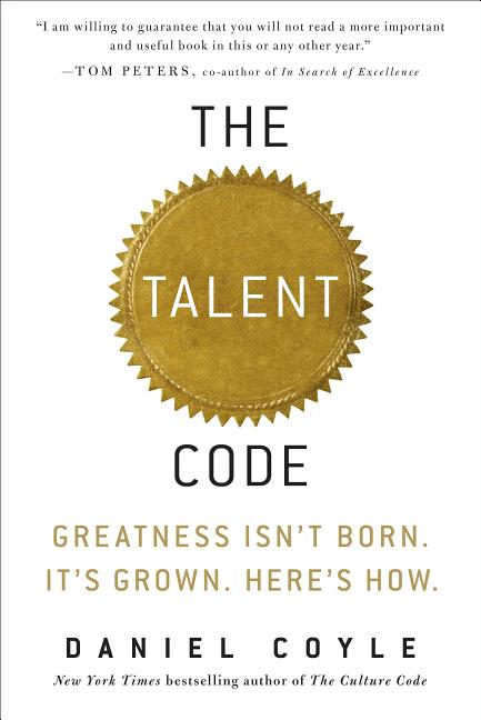 Cover art for The Talent Code